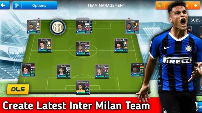 Inter Milan Team Dls