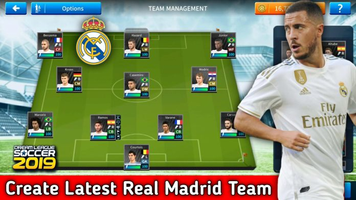 How To Create Latest Real Madrid Team in Dream League Soccer 2019