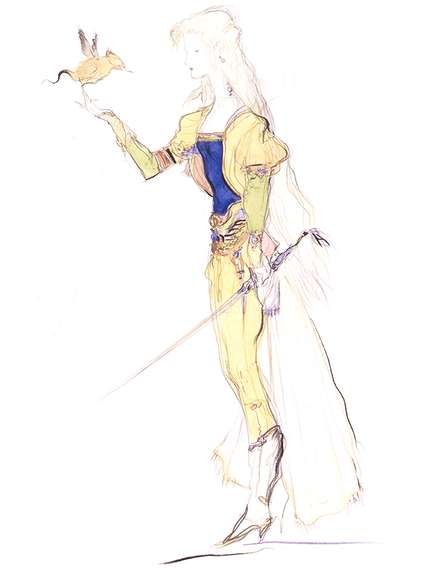 Celes Chere from Final Fantasy VI - Female Character