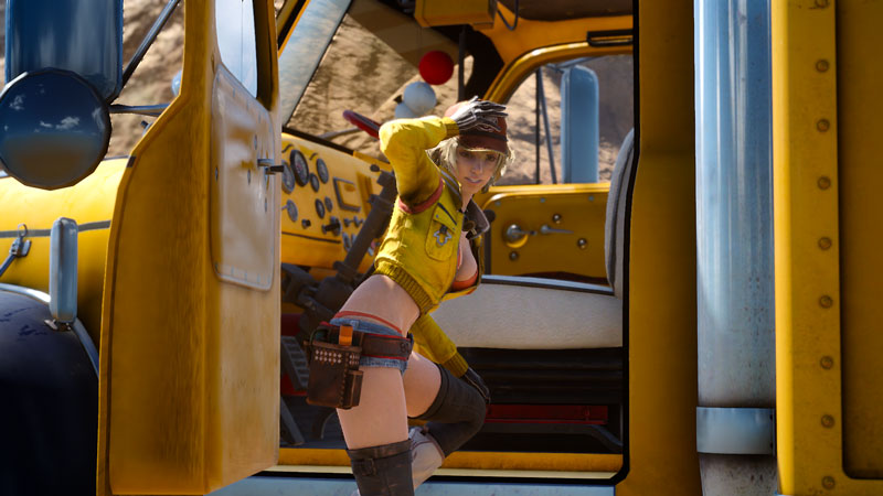 Hot & Sexy Cindy Aurum from Final Fantasy XV - Most Beautiful Final Fantasy Female Characters - Hot Lovely Sexy Fantasy Anime Girls