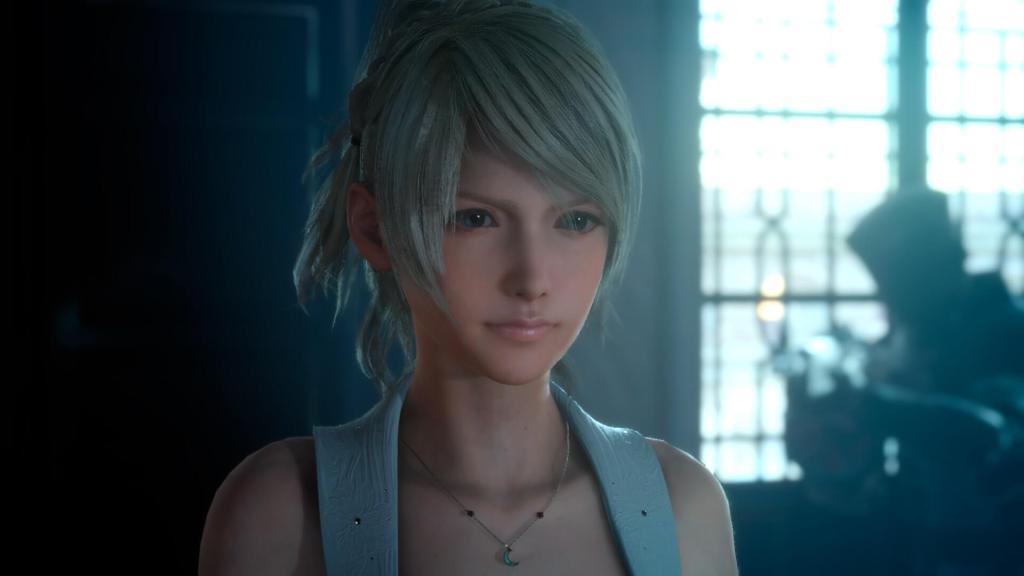 Lovely Beautiful Lunafreya Nox Fleuret Final Fantasy XV - Most Beautiful Final Fantasy Female Characters Anime Girl