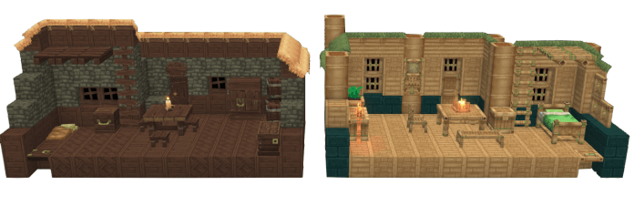 hytale maisons caves