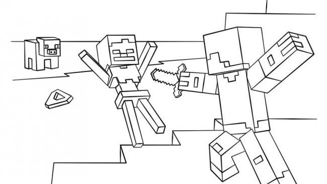 Minecraft Dessins Et Coloriages Ou En Trouver Minecraft Gamewave
