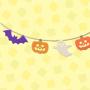 Spooky garland