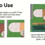 Acnh Best Custom Designs For Path Floor Animal Crossing Gamewith