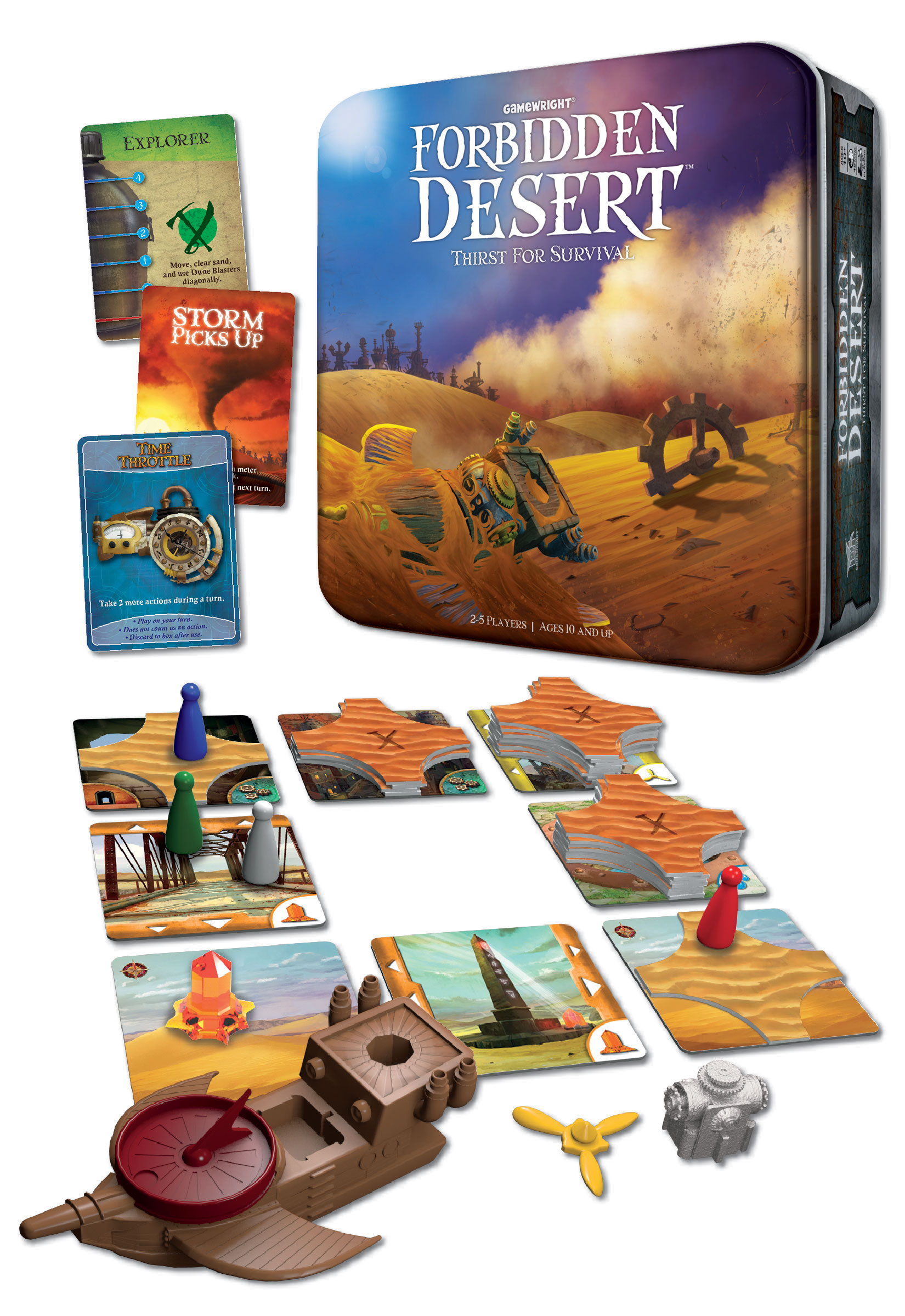 Gamewright Embarks On A New Forbidden Adventure In