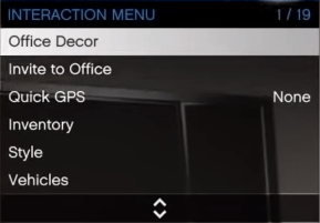 interaction menu GTA V