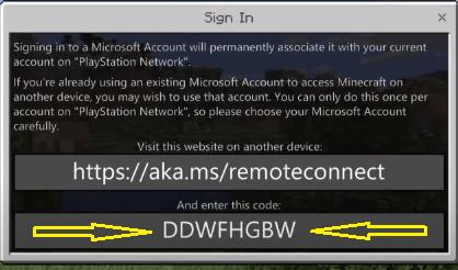 https aka ms remoteconnect ps4