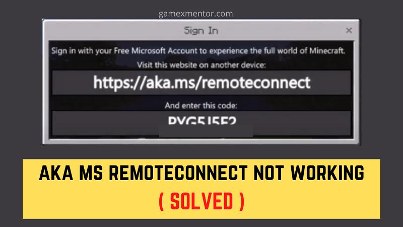 https //aka.ms/remoteconnect not working