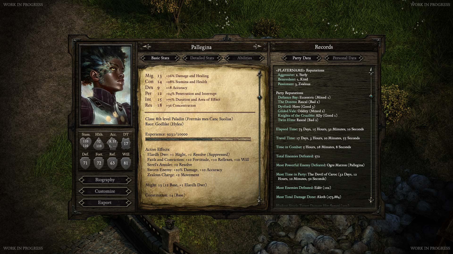 Everything You Need To Know About Obsidian S Upcoming Pillars Of Eternity Isometric Rpg Games