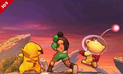 Teilt nun auch auf dem Handheld aus - Super Smash Bros. 3DS