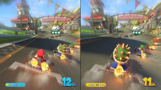Besser zu zweit! Mario Kart 8 entfaltet im Mehrspielermodus sein wahres Potenzial!