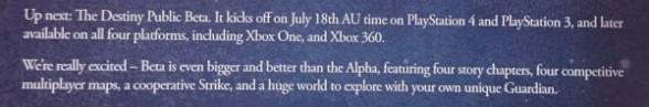 Destiny Gamestop Brief