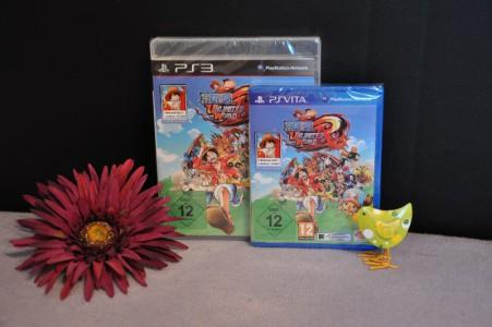 Gewinnt je einmal One Piece Unlimited World Red für PS Vita oder PS3.