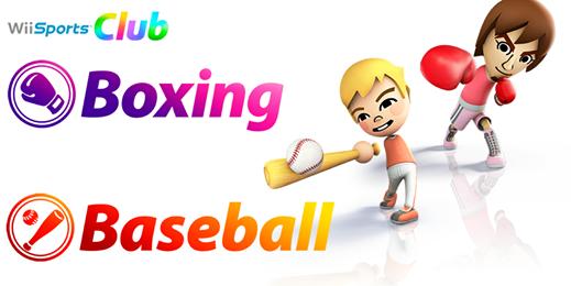 Wii Sports Club Boxen & Baseball