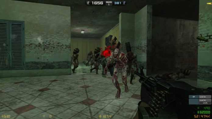 Counter Strike Nexon Zombies Gameplay Screenshot