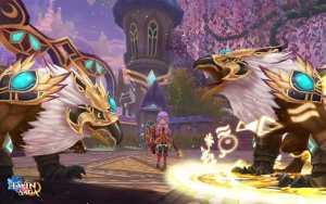 Twin Saga Monster Screenshot