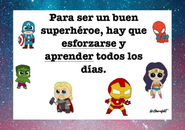 normas superhéroes