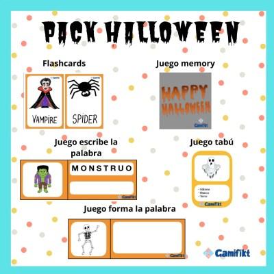 Pack de material para Halloween 🎃 🎃