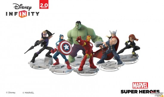 Disney Infinity Marvel group