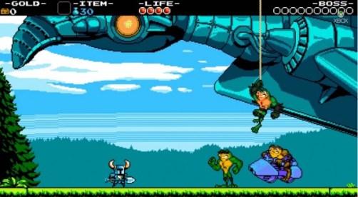 Shovel Knight + Battletoads
