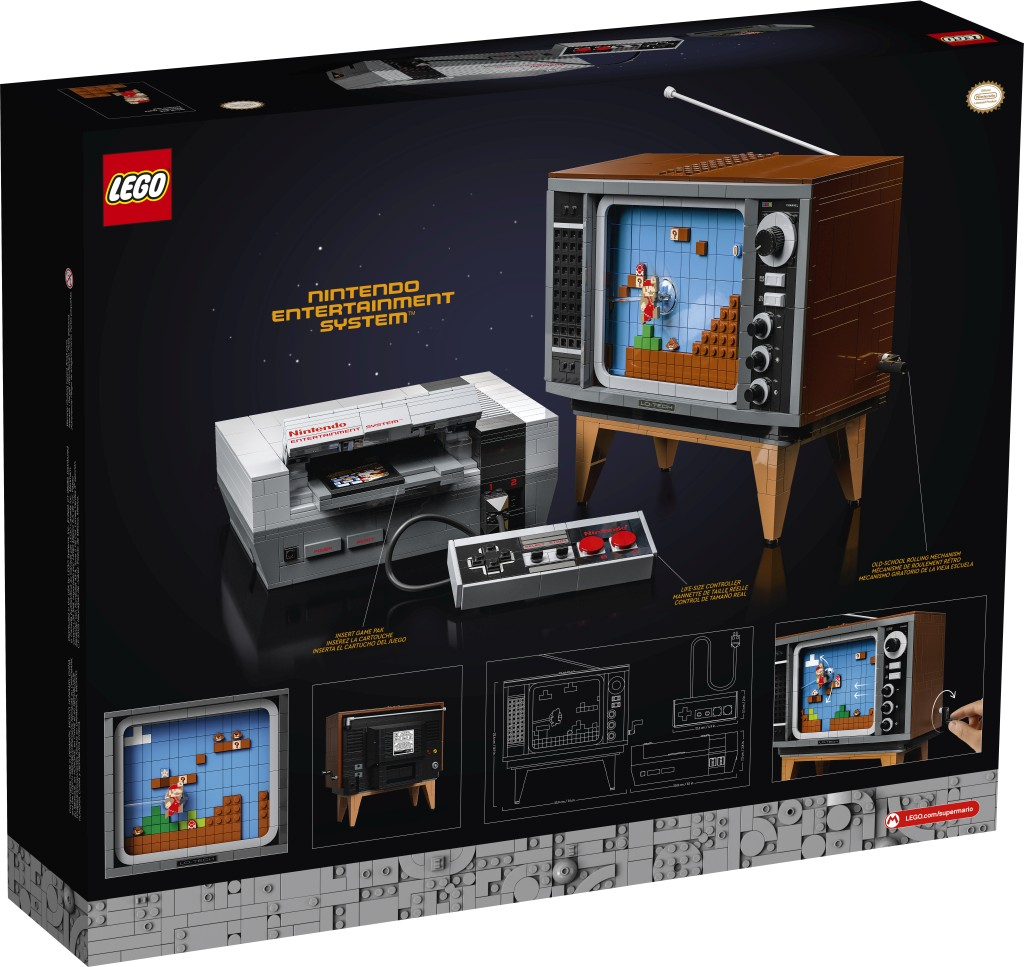 Lego Nintendo Entertainment System Building Kit Launching August 2020 Gaming Age