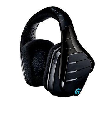Logitech G933 Artemis Spectrum Kabelloses professionelles Gaming Kopfhörer (mit 7.1-Surround-Sound, 2,4-GHz-Verbindung) schwarz -