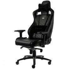 NobleChairs EPIC Series Faux Leather Gamingstol – Svart