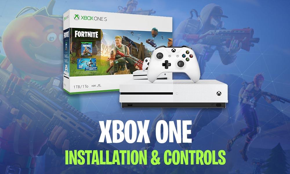 Tutorial How To Install Play Fortnite On The Xbox One