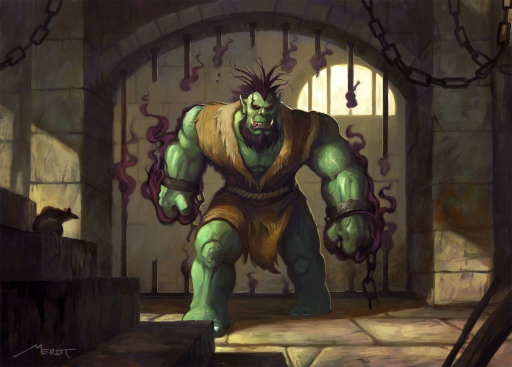 Orc Grunt Fighter Artwork Wc3 Warcraft 3 Tools