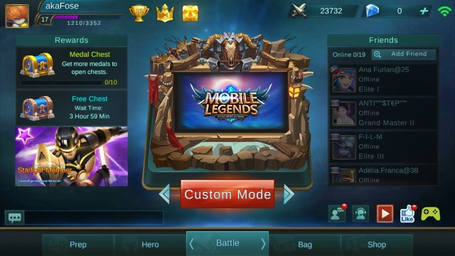 Апдейт Mobile Legends