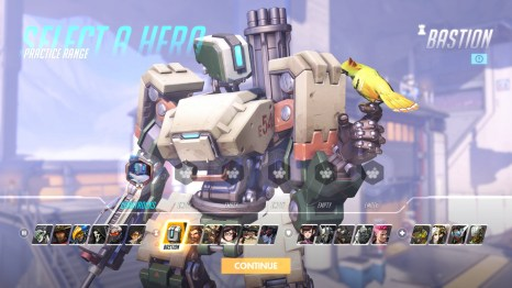 Bastion Overwatch hero