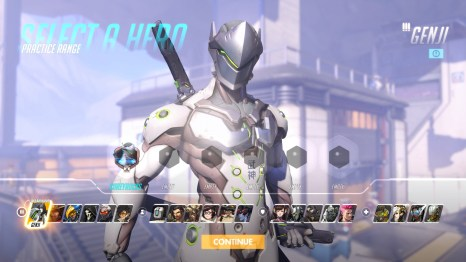 GENJI Overwatch Hero