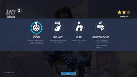 MEI Defence Abilities Overwatch
