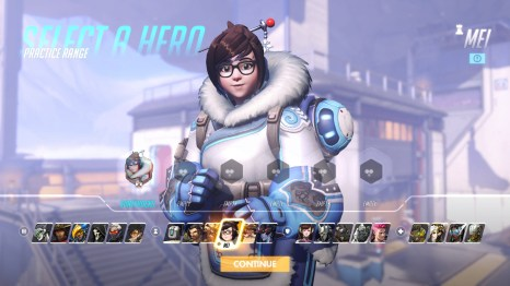MEI Overwatch Hero