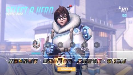 MEI Overwatch Hero