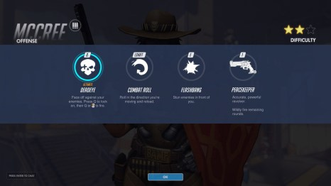 McCree Offense Abilities Overwatch