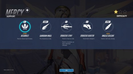 Mercy Support Abilities Overwatch