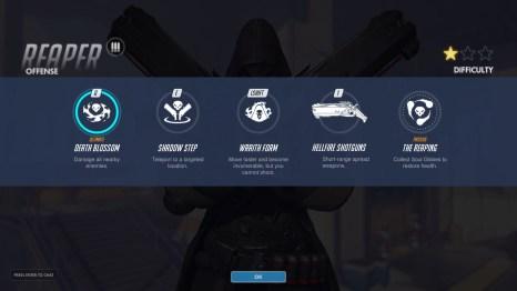 Reaper Offense Abilities Overwatch