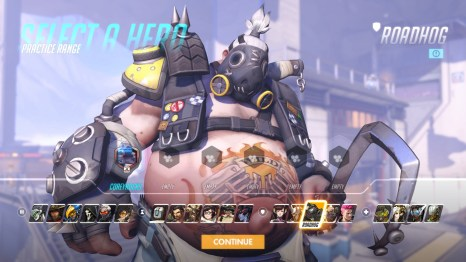 Roadhog Overwatch Hero