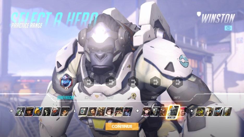 Winston Overwatch Hero