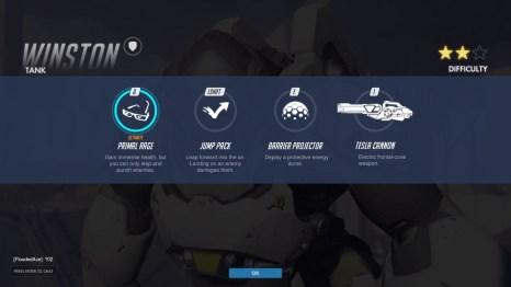 Winston Tank Abilities Overwatch