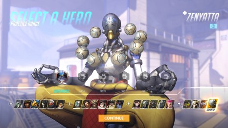 Zenyatta Overwatch Hero