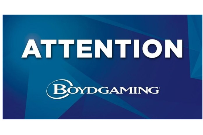 Boyd Gaming Commences Property Reopening Process