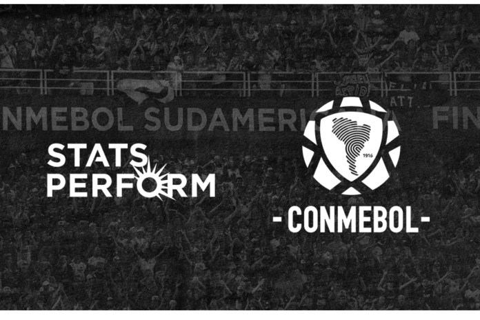 Stats Perform named Exclusive Official CONMEBOL Data Provider