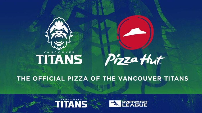 Vancouver Titans Partners with Pizza Hut Canada