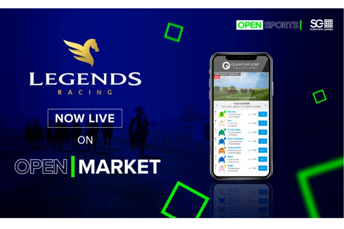 Scientific Games Extends Virtual Sports Content Reach with Launch of Legends Horse Racing
