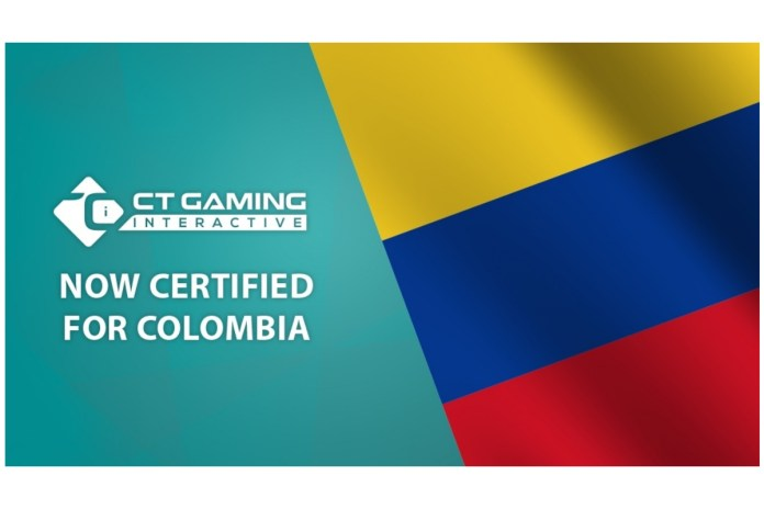 CT Gaming Interactive obtained certificate for the Colombian market
