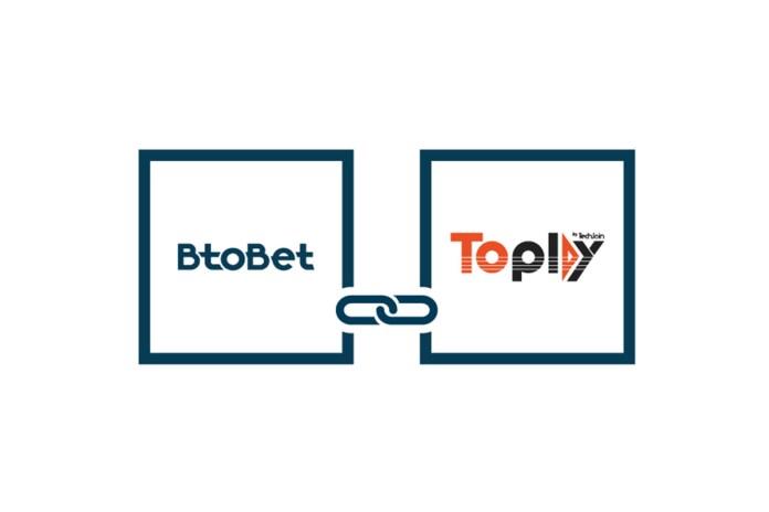 BtoBet Inks Partnership with Toplay