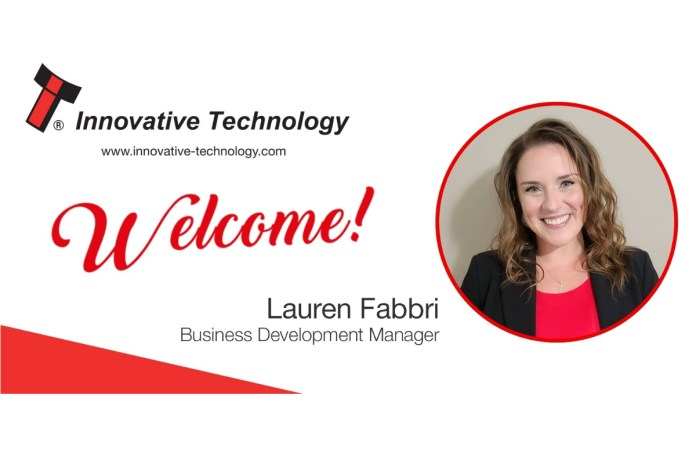 Fabbri strengthens Innovative Technology Americas, Inc.